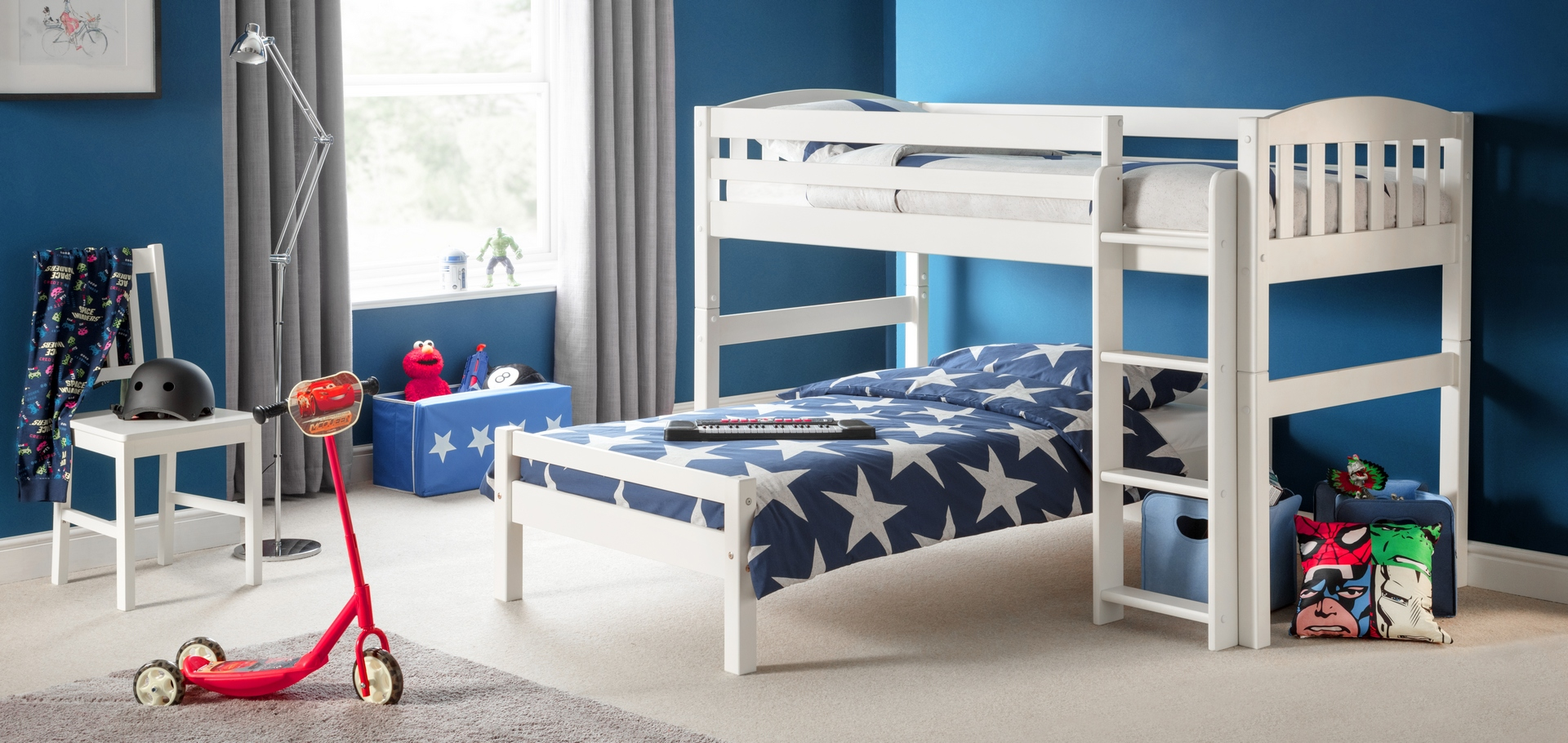 Julian Bowen Limited Furniture Manchester Steel Bed Double 1