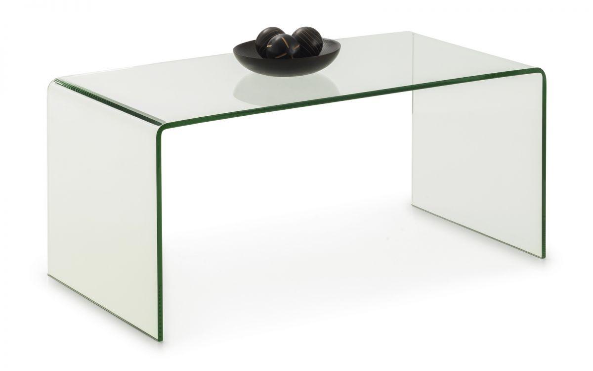amalfi bent glass coffee table julian bowen limited