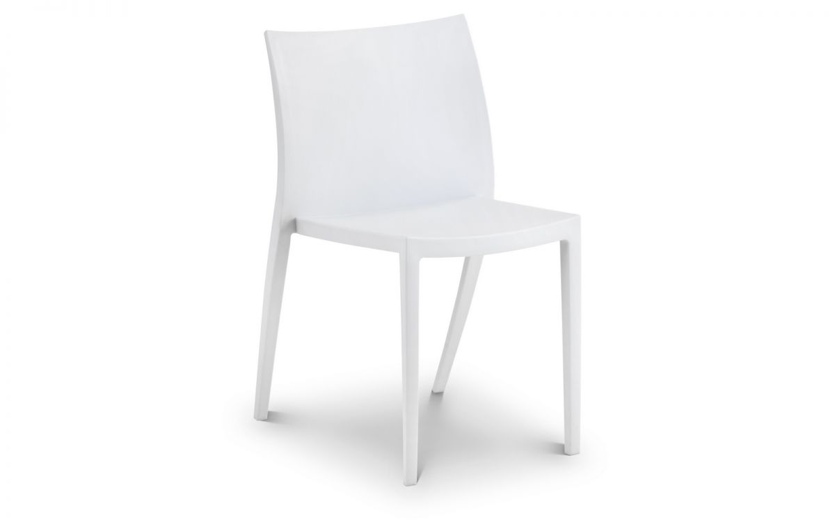 fresco indoor outdoor stacking chair white julian bowen limited
