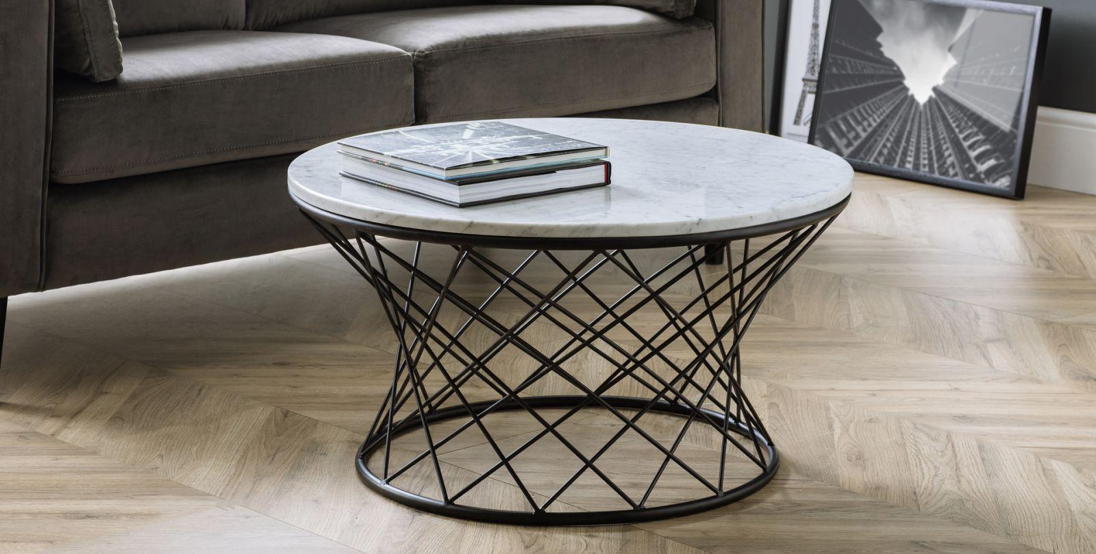 Jual Curve Walnut Black Glass Coffee Table Coffee Tables From Fads [ 1223 x 1545 Pixel ]