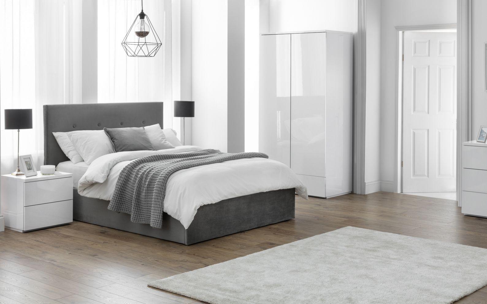 Monaco White Bedroom | Julian Bowen Limited