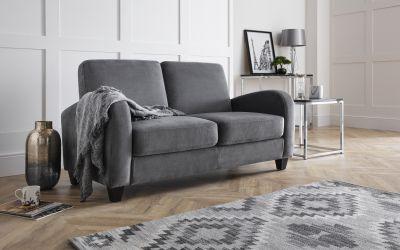 Vivo 3 Seater Sofa In Dusk Grey Chenille Julian Bowen Limited