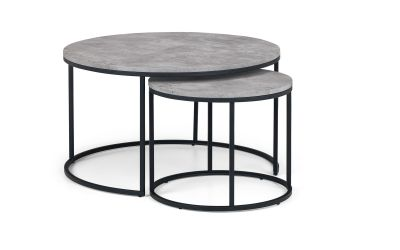 Staten Round Nesting Coffee Table Julian Bowen Limited