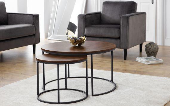 99701ebbcb Bellini Round Nesting Coffee Table
